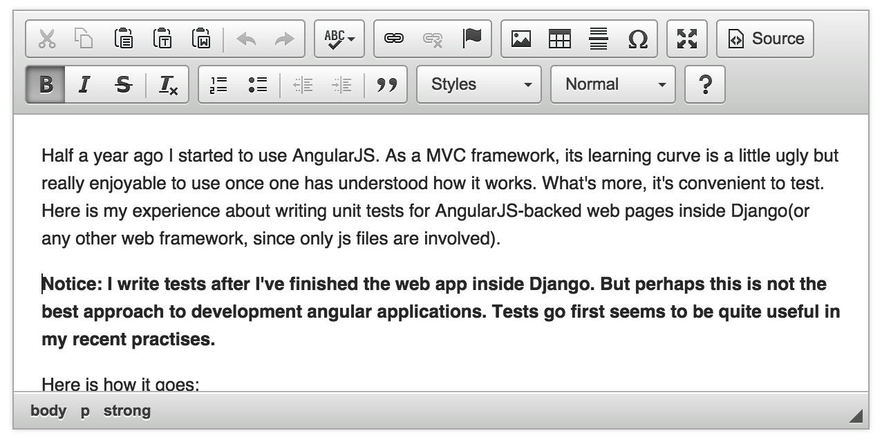 Using Rich Text Editor with Ajax